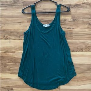 Forever 21 Teal Tank Top
